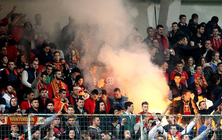 Скандальный матч Черногория - Россия не был доигран