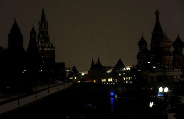 В «Час Земли» в Москве отключат подсветку 400 зданий