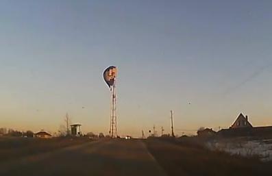 Опубликовано видео крушения воздушного шара в Подмосковье