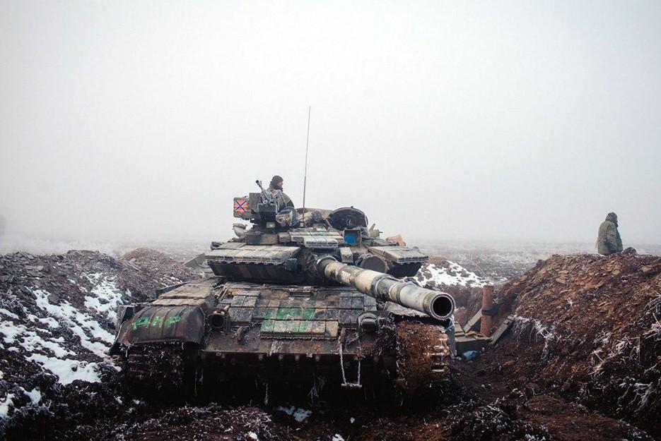 ДНР завершила отвод тяжелой техники