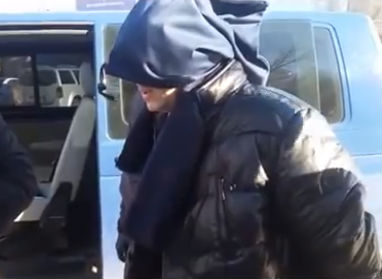 Опубликовано видео задержания украинского шпиона в Свердловской области