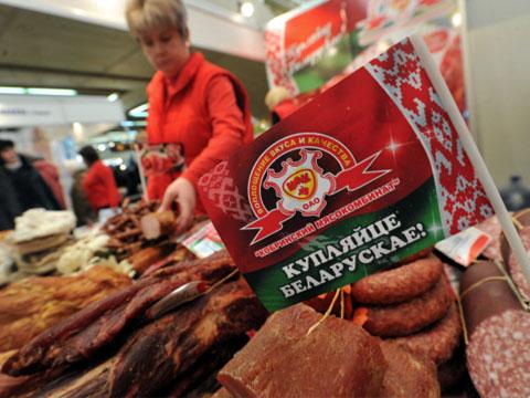 Из магазинов Белоруссии исчезает импорт