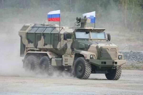 На параде 9 мая в Москве представят новые броневики