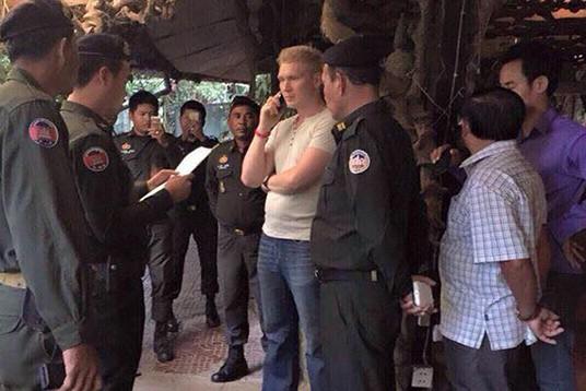 В Камбодже арестовали бизнесмена Николая Дорошенко