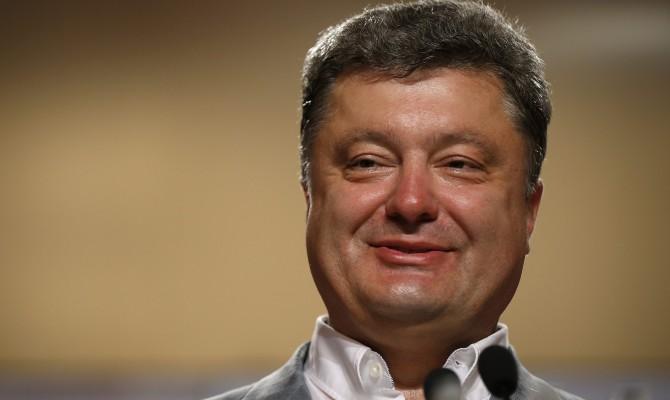 Порошенко поздравил украинцев с Днем Европы