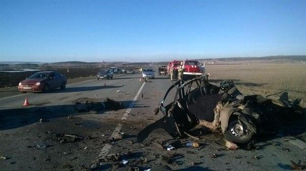 3 человека разбились в ДТП под Ульяновском