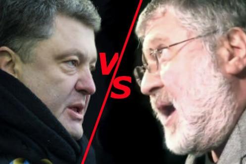 Порошенко отправил Коломойского в отставку
