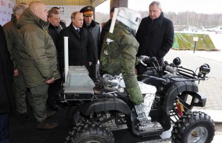 В российской армии появится робот