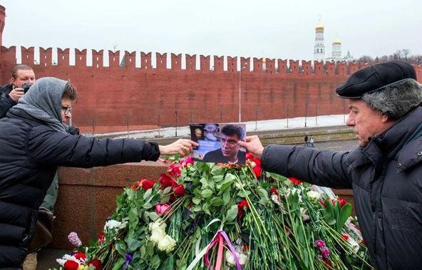 Маршрут шествия памяти Бориса Немцова