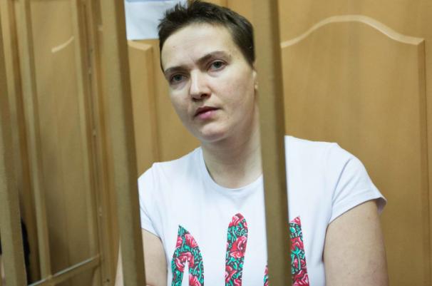 Савченко просит российских врачей помочь ей выйти из голодовки