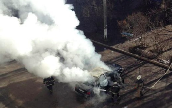 В Харькове взорвалась вторая за день машина