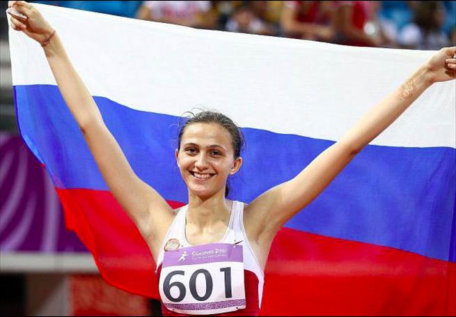 Российская легкоатлетка Кучина взяла