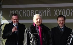 Игорь Верник, Олег Табаков и Владимир Мединский