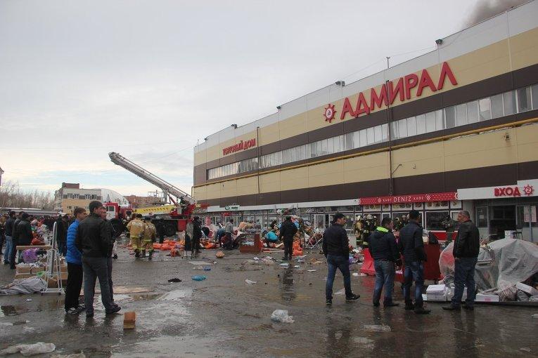 В отношении пристава, не устранившего нарушения пожарной безопасности в ТЦ «Адмирал», возбуждено дело