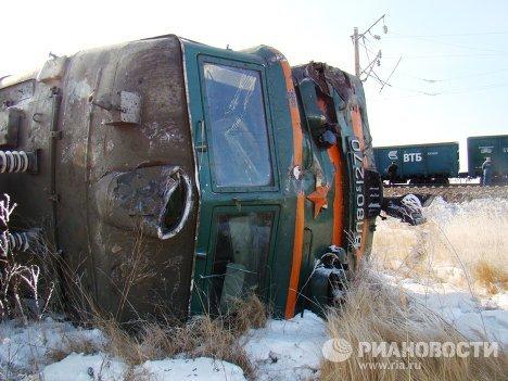 В Кузбассе столкнулись два поезда