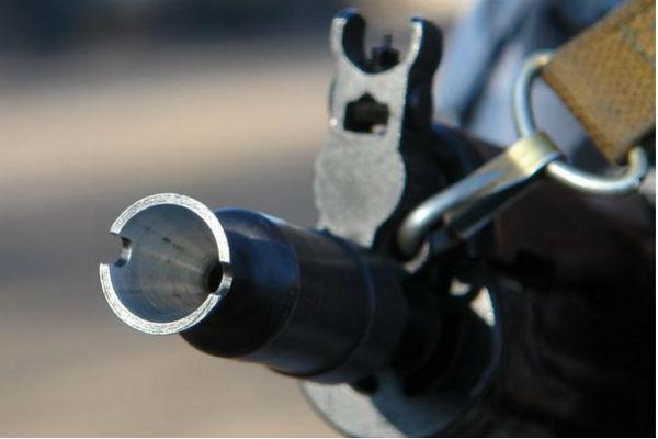 На Украине из автомата расстреляли военкомат
