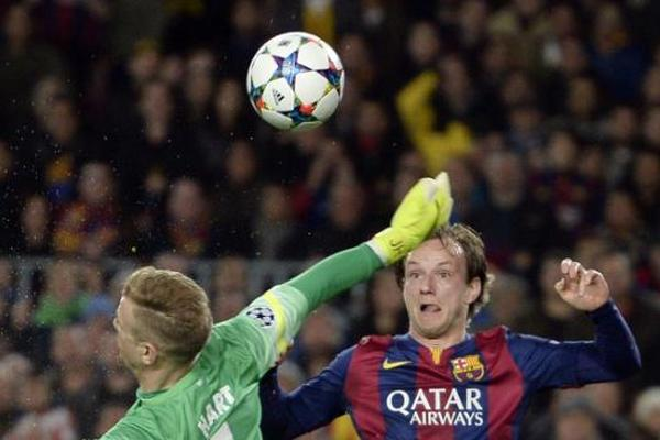 Судьбу поединка между «Барселоной» и «Манчестер Сити» решил хорват