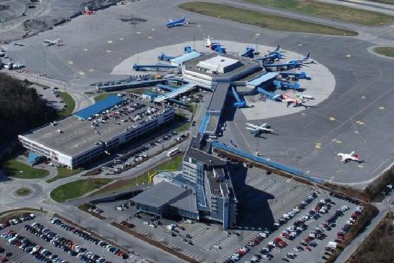 В Норвегии заминировали аэропорт Бергена