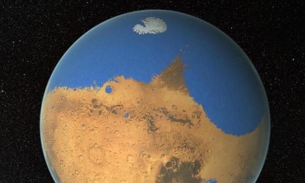 NASA обнаружило на Марсе следы древнего океана