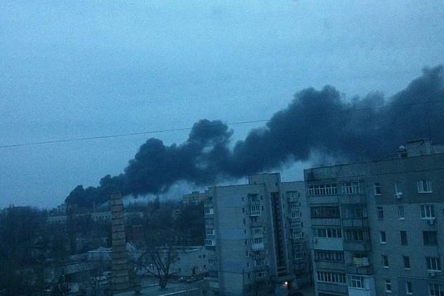 После отставки Коломойского под Днепропетровском загорелся завод