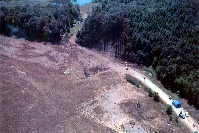 Самолет упал на жилой дом в штате Техас