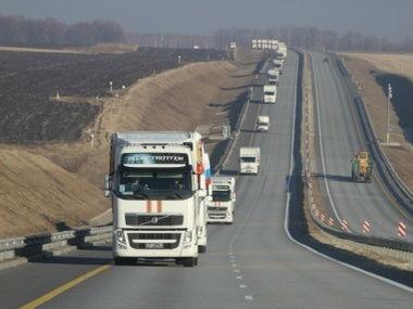 Гумкомвой из России пересек границу Украины