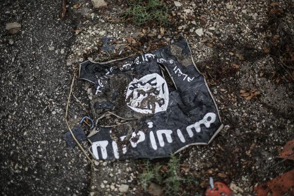 Боевики ИГ развесили по городу 20 тел казненных мужчин