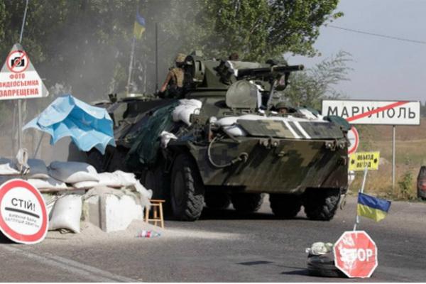 «Правому сектору» приказали срочно покинуть Мариуполь