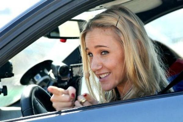В авто экс-солистки «Блестящих» Юлии Ковальчук врезался спящий водитель