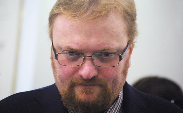 Милонов обвинил питерского депутата в одержимости дьяволом