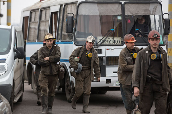 На аварийной шахте в Донецке нашли тела девяти горняков