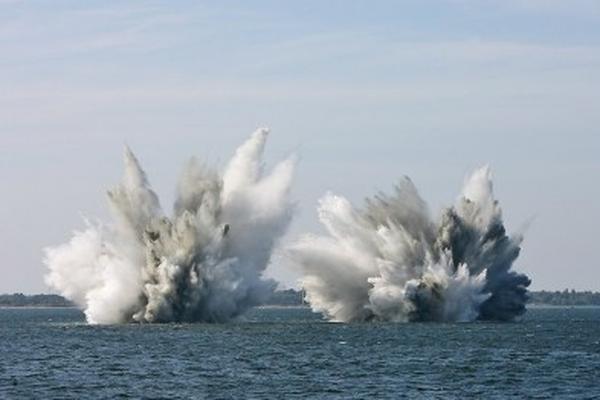Украинская армия ударила снарядами по Азовскому морю