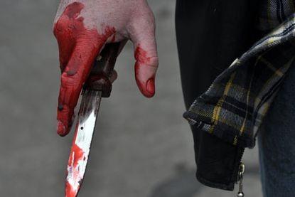 Неизвестный ударил сотрудника полиции ножом в Подмосковье