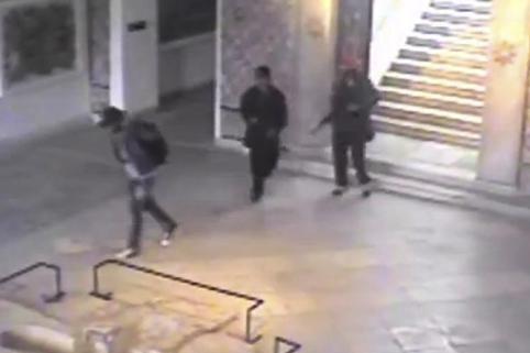 В Сети появилось видео террористической атаки на музей Бардо