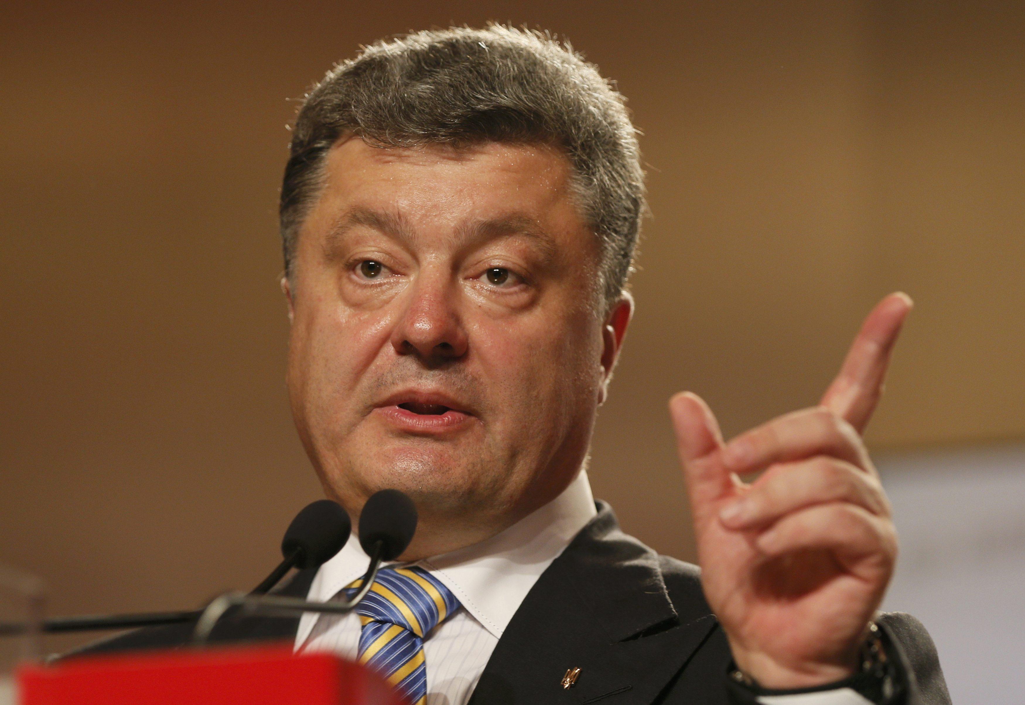 Порошенко заявил о начале крупной спецоперации на Украине