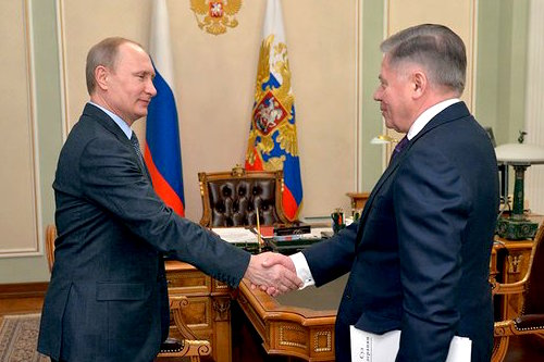 На сайте Кремля появилось фото Путина со встречи с председателем ВС Вячеславом Лебедевым