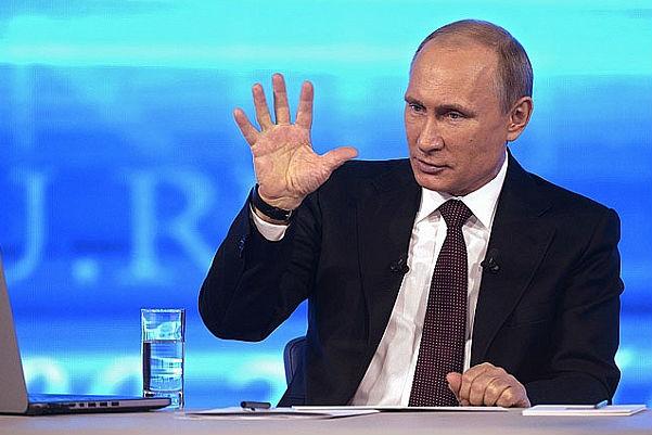 «Прямая линия» с Путиным запланирована на 16 апреля