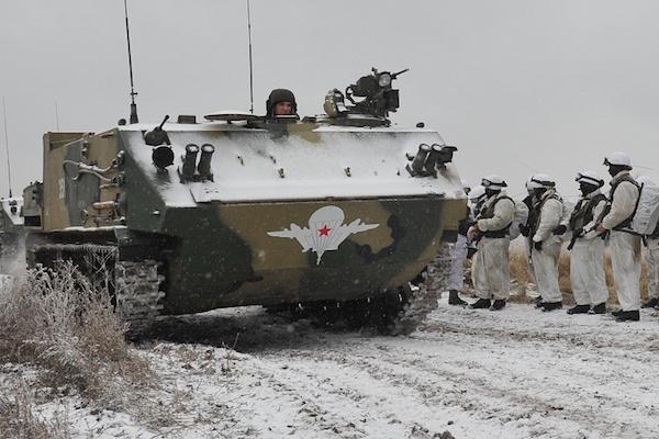В ВДВ поступила первая партия новейших бронемашин