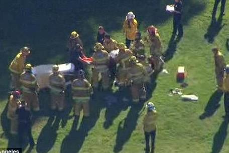 Самолет Форда упал из-за отказа двигателя