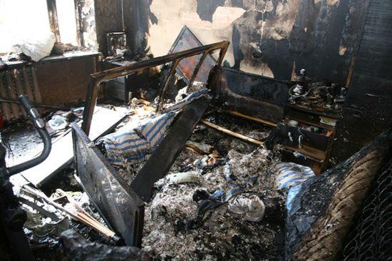 Возбуждено дело по факту пожара, в котором погиб двухлетний ребенок