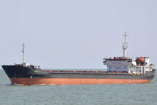 Следовавшее из Находки грузовое судно терпит бедствие в Японском море