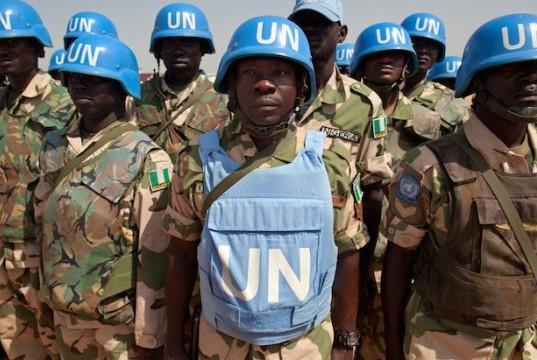 Украина обратилась с официальным запросом в ООН по вводу миротворцев