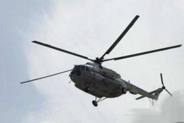Под Киевом рухнул военный вертолет