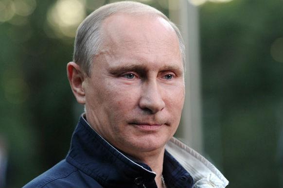 Владимир Путин прилетел в Санкт-Петербург