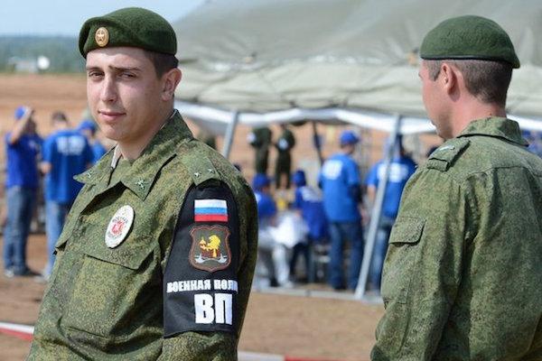 Путин подписал устав военной полиции армии России