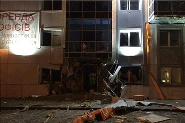 В Одессе взорвали здание «Правого сектора»