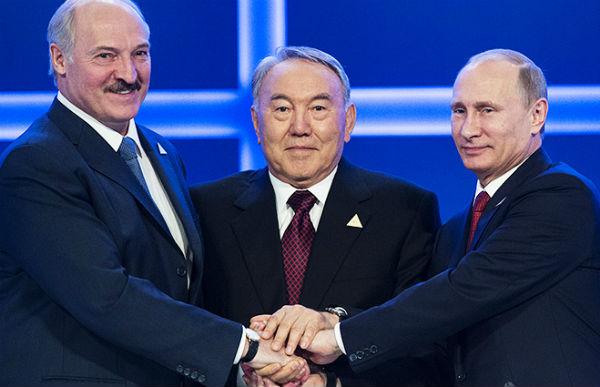 Путин встретится в Астане с Назарбаевым и Лукашенко