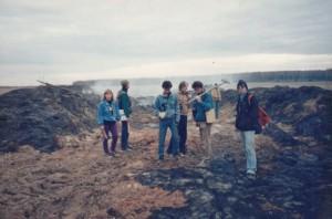 """Место падения Кореневского метеорита. Фото """"Космопоиска"""""""