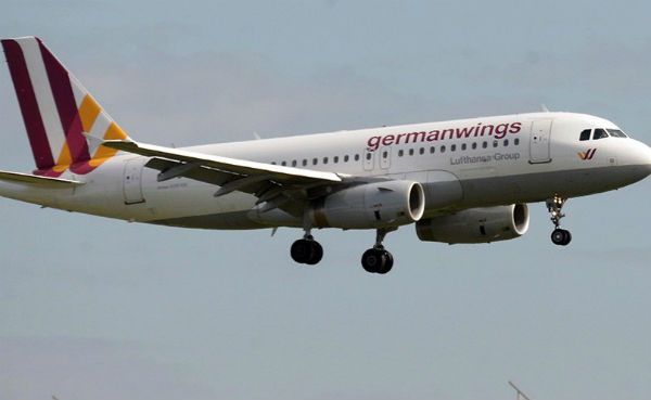 Самолет Germanwings совершил вынужденную посадку в Штутгарте