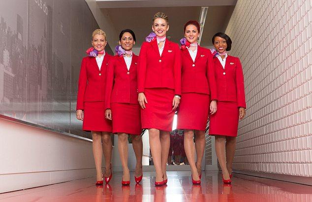 """Результат пошуку зображень за запитом """"1 місце Virgin Atlantic стюардессы"""""""